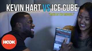 The Hook - Kevin Hart & Ice Cube Interrogation Game | Maya In The Middle