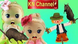 Đồ chơi trẻ em BẮT TÊN ĂN TRỘM KÌ LẠ TRONG NÔNG TRẠI KN Channel