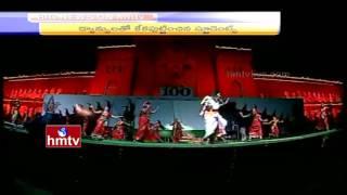 Telangana Bathukamma Dance Performance at Osmania University 100 Years Celebrations