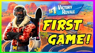 🔴FIRST FORTNITE SEASON 5 GAME EVER! Come Show Me Da Way To My First W 😃| #RoadTo2.3k