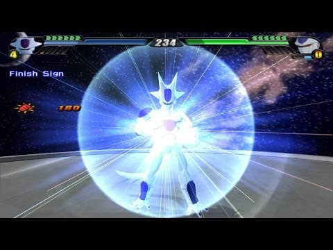 Frieza 5th form transformation VS Cooler Final Form (Dragon Ball Z Budokai Tenkaichi 3 MOD)