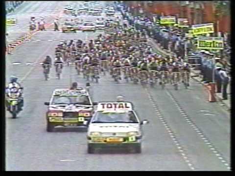 Van Poppel wint massasprint op Champs-Élysées in 1988