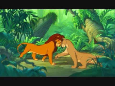 The Lion King-The Lion Sleeps Tonight With Lyrics