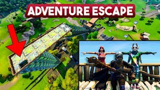 ADVENTURE ESCAPE v3!! - Fortnite Playground (Nederlands)