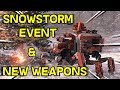 Christmas Snowstorm Event and Patch 0.10 Break Down and New Weapons -- Crossout