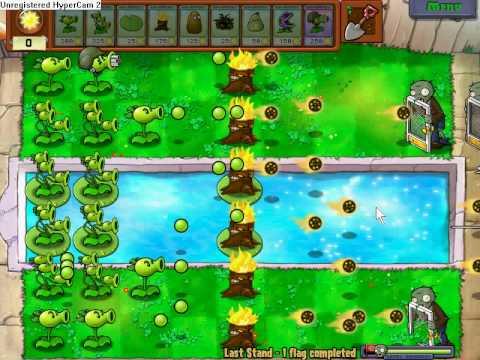 plants vs zombies last stand part 1/2