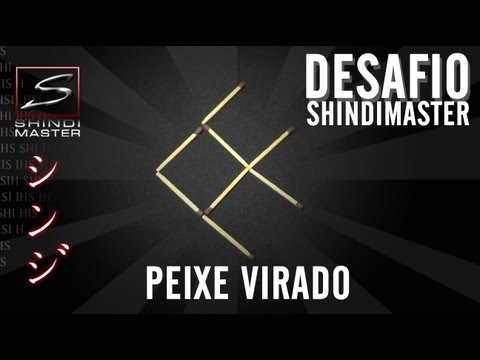 Desafio do Peixe Virado - palito (challenge of fish - stick) - DESAFIO SHINDIMASTER