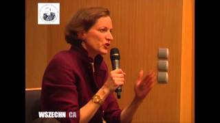 Anne Applebaum-Imperious jewess Kike-ess Advises Nuke War w/Russia for Max White Goyim Kills