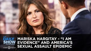 "Mariska Hargitay - ""I Am Evidence"" and America's Sexual Assault Epidemic 