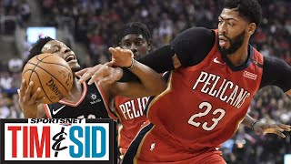 Why The Raptors Should Go All-In And Trade For Anthony Davis | Tim and Sid
