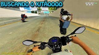 GTA SAN ANDREAS - MOTOVLOG Vida Real #39 - BUSCANDO XJ6 DA REFORMA & ROLÊ COM OS PARÇAS