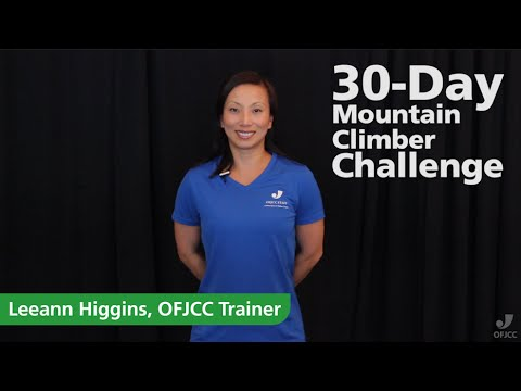 Mountain Climber 30 Day Challenge 30-day Mountain Climber