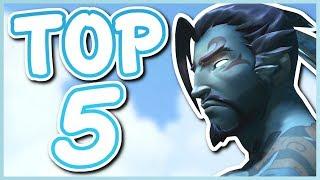 Overwatch - TOP 5 BEST HANZO SKINS