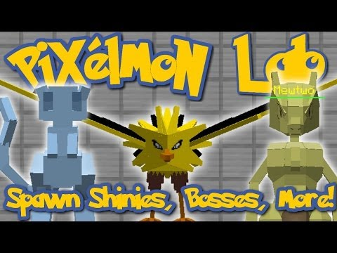 Pixelmon Lab: COMPLETE SPAWNING GUIDE! Pokemon. Shiny Pokemon. Bosses. and Specified Levels!