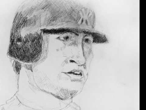 Mark Teixeira Caricature. New York Yankees Sluggers Hits 3 Home Runs vs Red Sox. Video