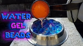 Molten Copper vs Water Gel Beads Orbeez