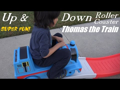 Thomas & Friends: Up & Down Roller Coaster Thomas the Tank Engine Ride