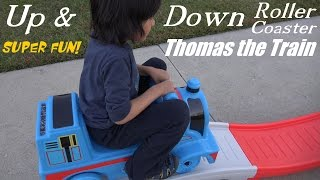 Thomas & Friends: Up & Down Roller Coaster Thomas the Tank Engine Ride at the Park