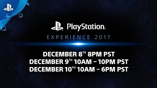 Live.PlayStation.Com - PlayStation Experience 2017