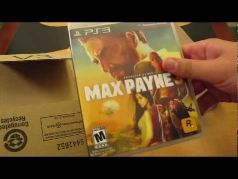 Unboxing abriendo review Max Payne 3 español spanish