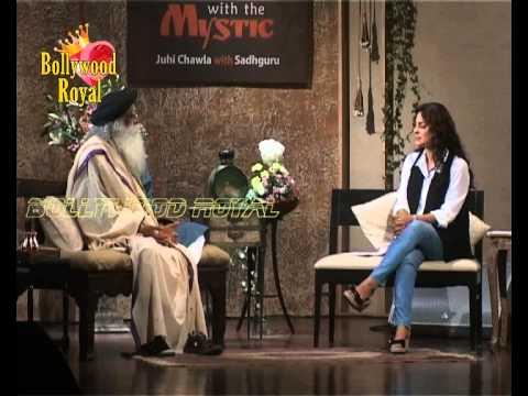 Juhi Chawla In Conversation With Sadhguru on topic 'Of Love and Love'  2