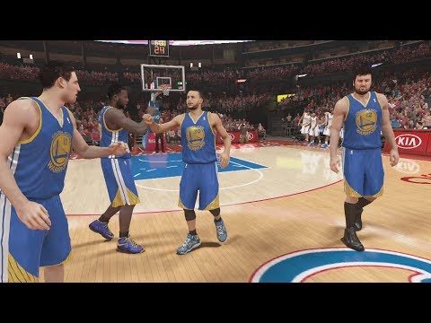 NBA 2K14 (PS4): Golden State Warriors vs L.A. Clippers Round 1 - Game 2 Sim