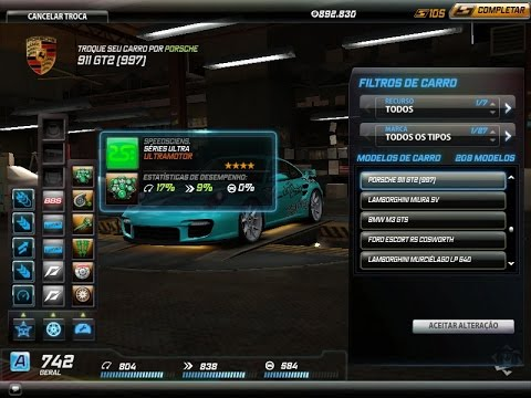 NFS World NFSW REVIEWS PORSCHE 991 GT2 997 Full Ultra