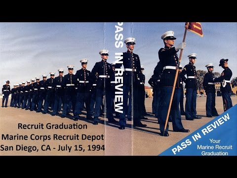 MCRD San Diego Graduation - July 15, 1994