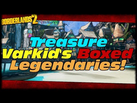 Borderlands 2 Treasure Varkids Box Drops Legendary Weapons In Son Of Crawmerax DLC!