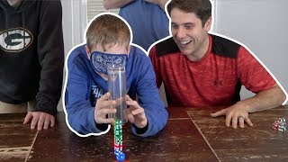 Dice Stacking and Trick Shot Challenge | That