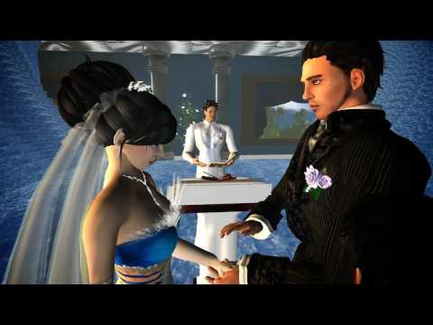 When Brave and Yue got Married - Second Life Wedding