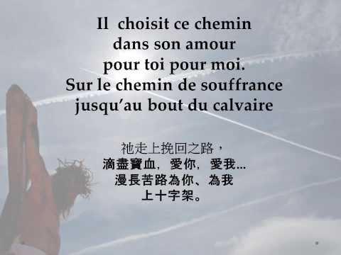 Sur le chemin de souffrance. Via dolorosa ( French) / 苦路 (法语)