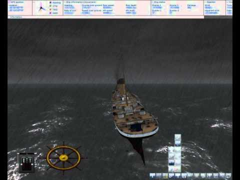 Ship simulator 2008 - titanic sinking fail