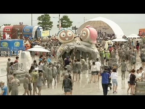 South Korean annual mud festival - no comment