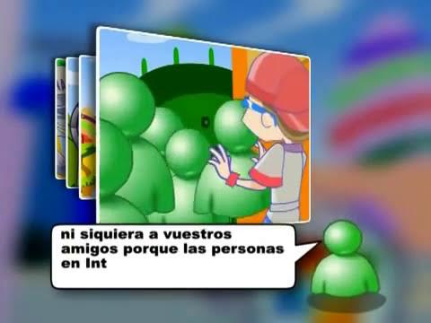 La seguridad de los menores en Internet según Microsoft (Dibujos animados)