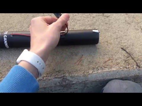 Review / Testing - Showtec Magic FX Confetti Cannon