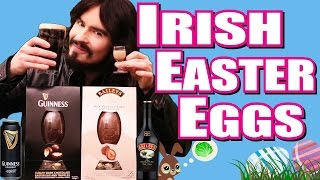 Irish People's Guinness & Baileys Easter Eggs -  (Alcohol 1%)