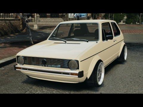 Volkswagen Golf Mk1 Stance