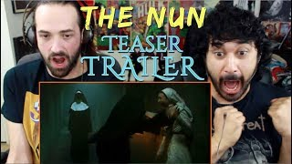 THE NUN - Official Teaser TRAILER REACTION & REVIEW!!!