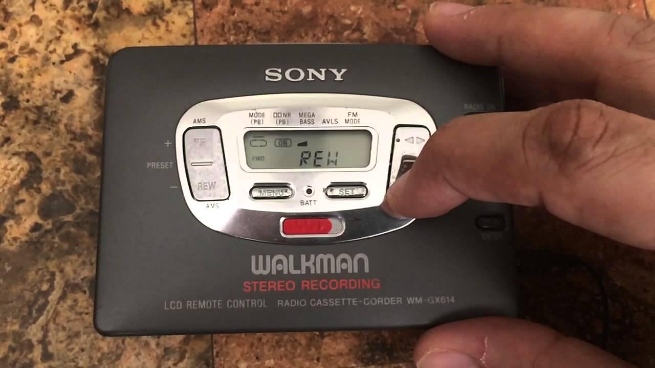 Aiwa Cassette Player Auto Reverse Auto Reverse Cassette