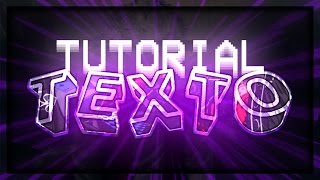TUTORIAL TEXTO 3D COM EFEITOS NO ANDROID + PACK 400 FONTS