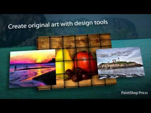 PaintShop Pro X5 Preview