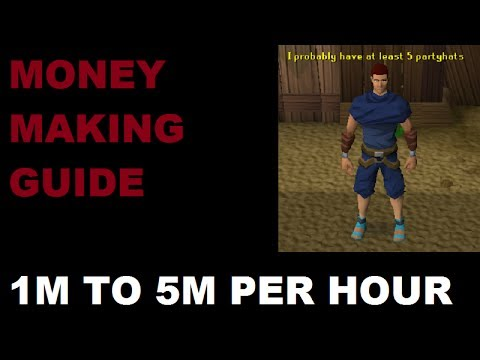 Runescape Ultimate Money Making Guide | Uncommon Methods | 1M to 5M per hour [Runescape 2013]