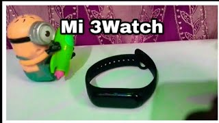Unboxing MI 3 watch fitness tracker band new feature ⌚🔥🔥🔥 🔥🔥