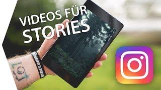 Videos für Instagram Stories exportieren TUTORIAL + FREE DOWNLOAD