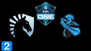 Liquid vs Newbee Game 2 Grand Final ESL One Genting 2018 Highlights Dota 2