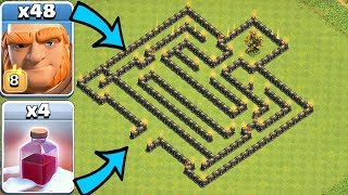 GIANT GOLDEN TREE MAZE!!! | Clash Of Clans | SANTA SPELL IS BACK!
