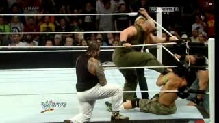 Dean Ambrose, Roman Reigns and John Cena vs The Wyatt Family -  6/9/14