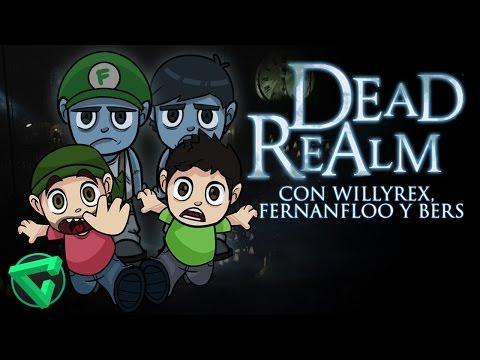 TERROR EN DEAD REALM CON WILLYREX, FERNANFLOO Y BERSGAMER | iTownGamePlay