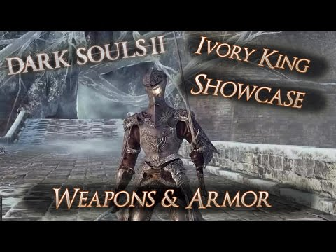 Dark Souls II - *DLC Ivory King* - New Weapons Showcase - Demostracion Nuevos Objetos